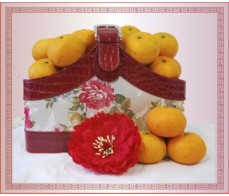 Chinese New Year - Flowers & Auspicious Oranges