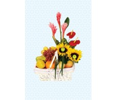 Fruits & Flower Arrangement